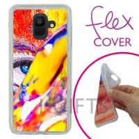 Conf. 2 Flex Cover per Galaxy A6 (2018)