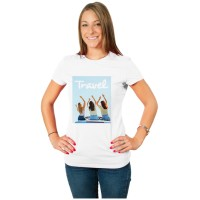 Conf. 2 T-Shirts bianche donna Slim Fit