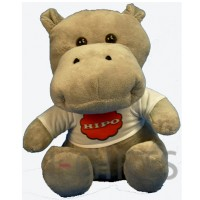 Peluches Grey Hippo Cat. P330HG