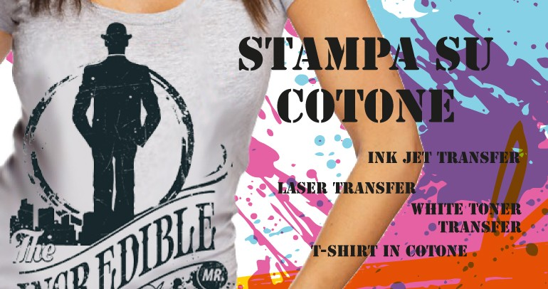 Cotton Transfer - Stampa su Cotone
